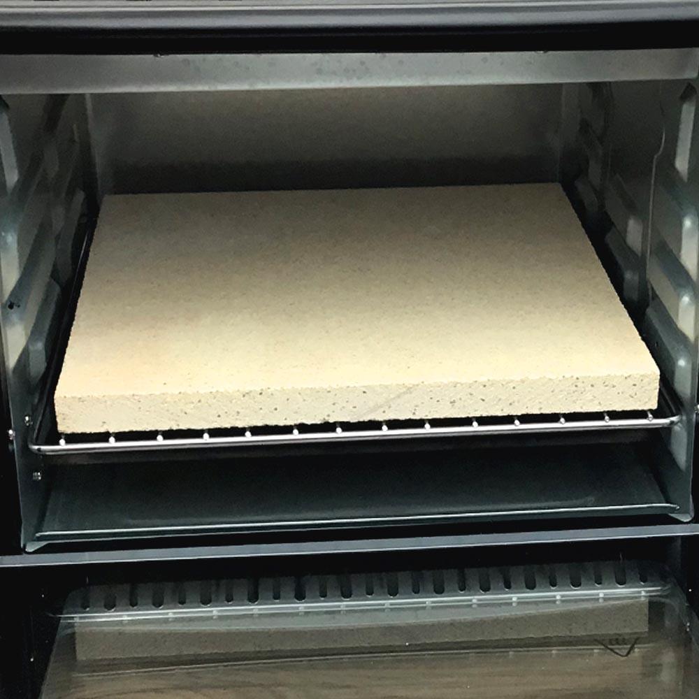 Pizzastein für den Minibackofen