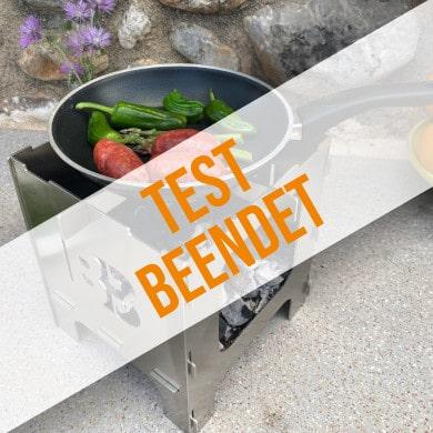 Anmeldung zum Produkttest für BlazeBox Stove Mini