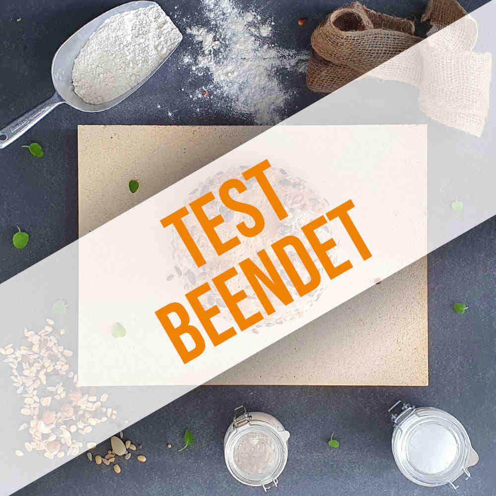 Anmeldung zum Brotbackstein-Produkttest