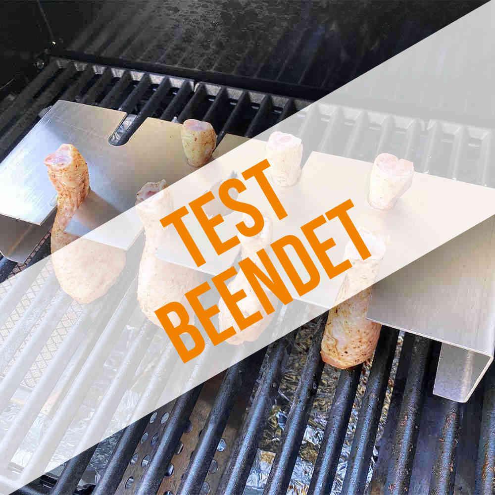 Anmeldung zum Hähnchenschenkelhalter-Produkttest