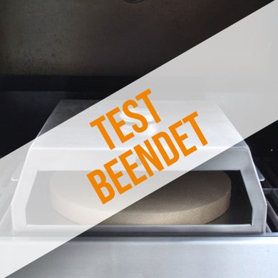 Anmeldung zum Produkttest für Pizzabox mit Pizzastein