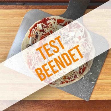Anmeldung zum Pizzaschieber-Produkttest