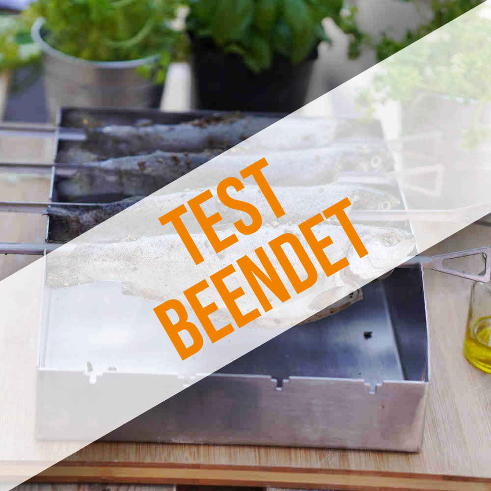 Anmeldung zum Räucherset-Produkttest