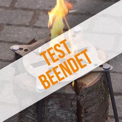 Anmeldung zum Produkttest für Schwedenfeuerplatte