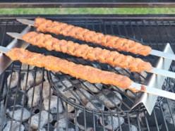 Testbericht: Kebab-Spieße für Grill & Pizzaofen