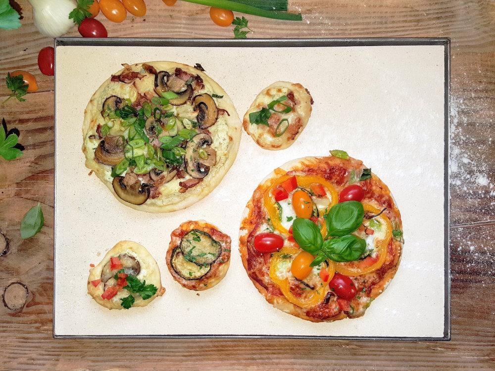 Testbericht: Pizzastein auf Maß - individueller Zuschnitt