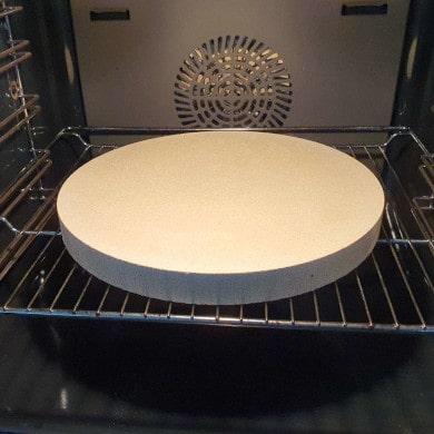 Pizzastein für den Backofen im Produkttest - Testbericht