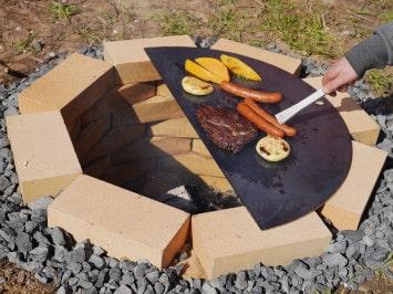 Bauanleitung: Feuerstelle bauen im Garten