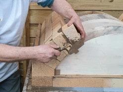 Bauanlaeitung: Flachgewölbe bauen