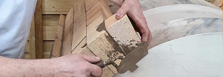 Flachgewölbe bauen