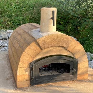 Bauanleitung für Pizzaofen mit Rundgewölbe - Toskana