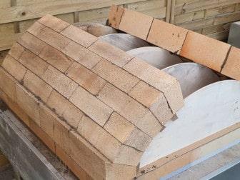 Schamottewölber zum Bau von Gewölben und Rundbögen