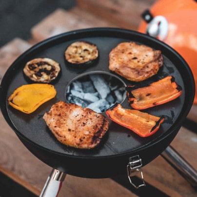 Grillring mit Kugelgrill