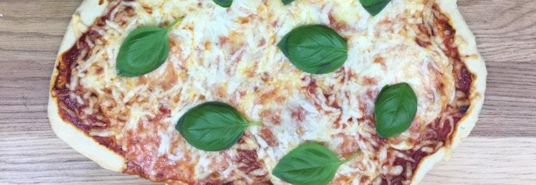 Rezepte für Pizzastein - Pizza Margherita