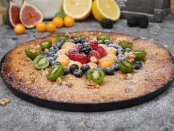 Jumbo Cookie Pizza für den Pizzaofen