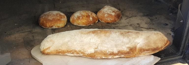 Rezept für Kartoffel-Brötchen aus dem Pizzaofen