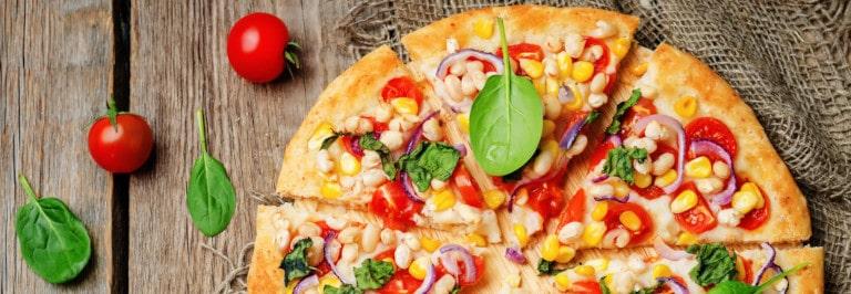 Rezept: Vegetarische Pizza Fresh & Healthy im Pizzaofen backen