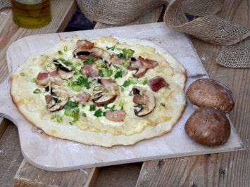 Rezept für Steinofen Pizza Rustika