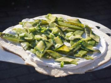 Veganer Flammkuchen Green Soul
