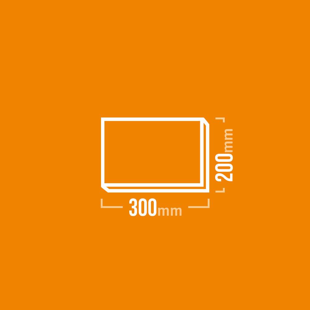 Schamotteplatten 300x200mm