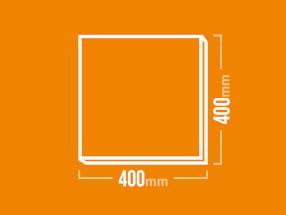 Schamotteplatte 400x400mm