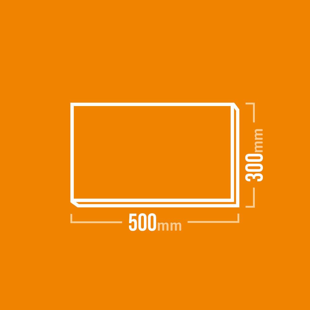Schamotteplatte 500x300mm