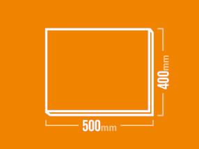 Schamotteplatte 500x400mm
