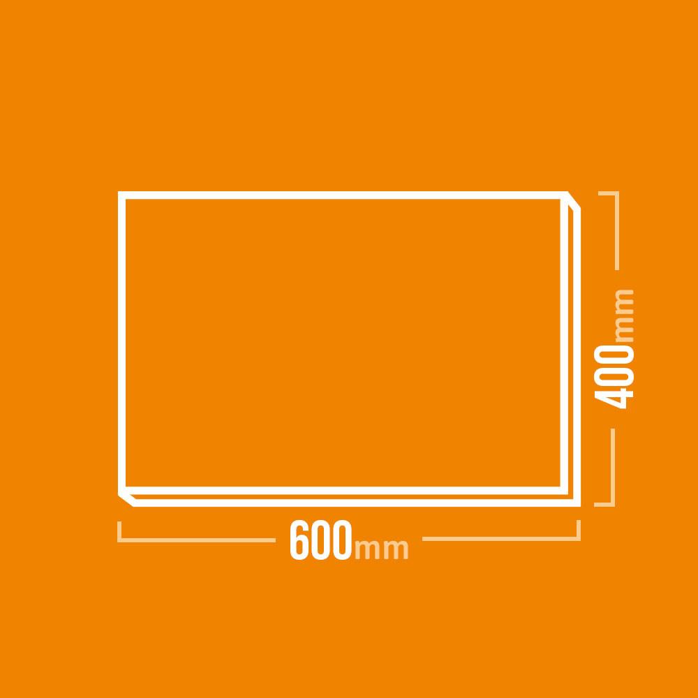 Schamotteplatte 600x400mm