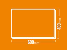 Schamotteplatte 600x400