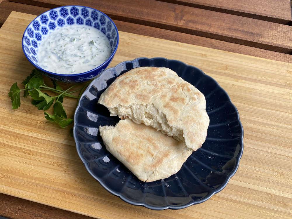 Rezept für Naan Brot