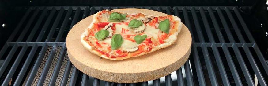Rezepte für Pizzastein