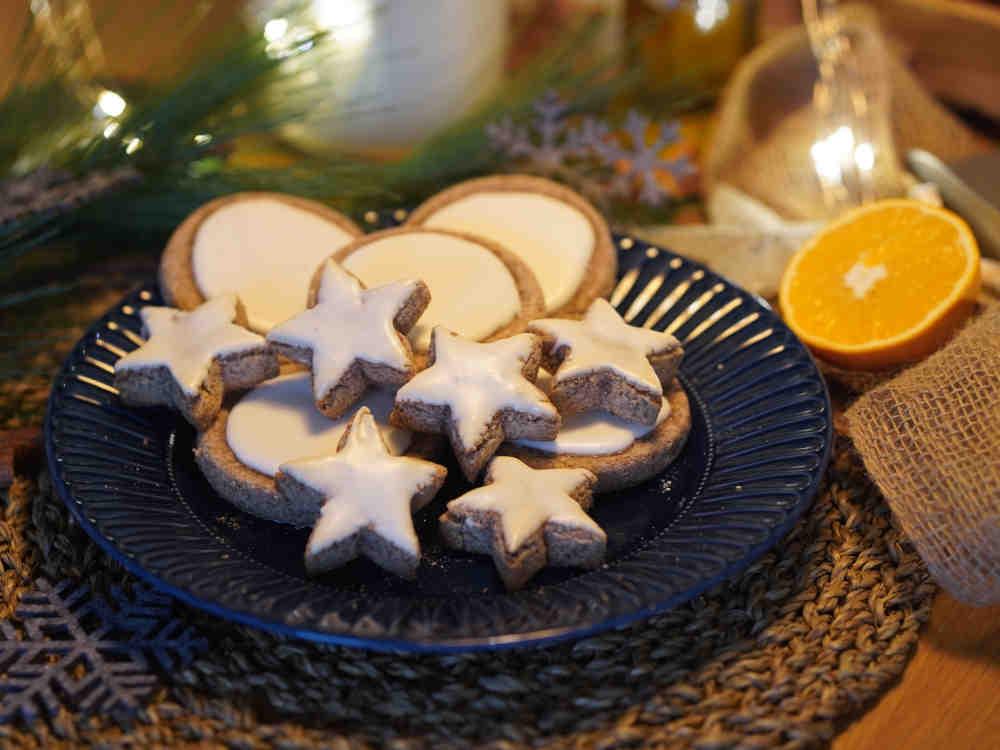 Weihnachtsrezept: Zimttaler vom Pizzastein
