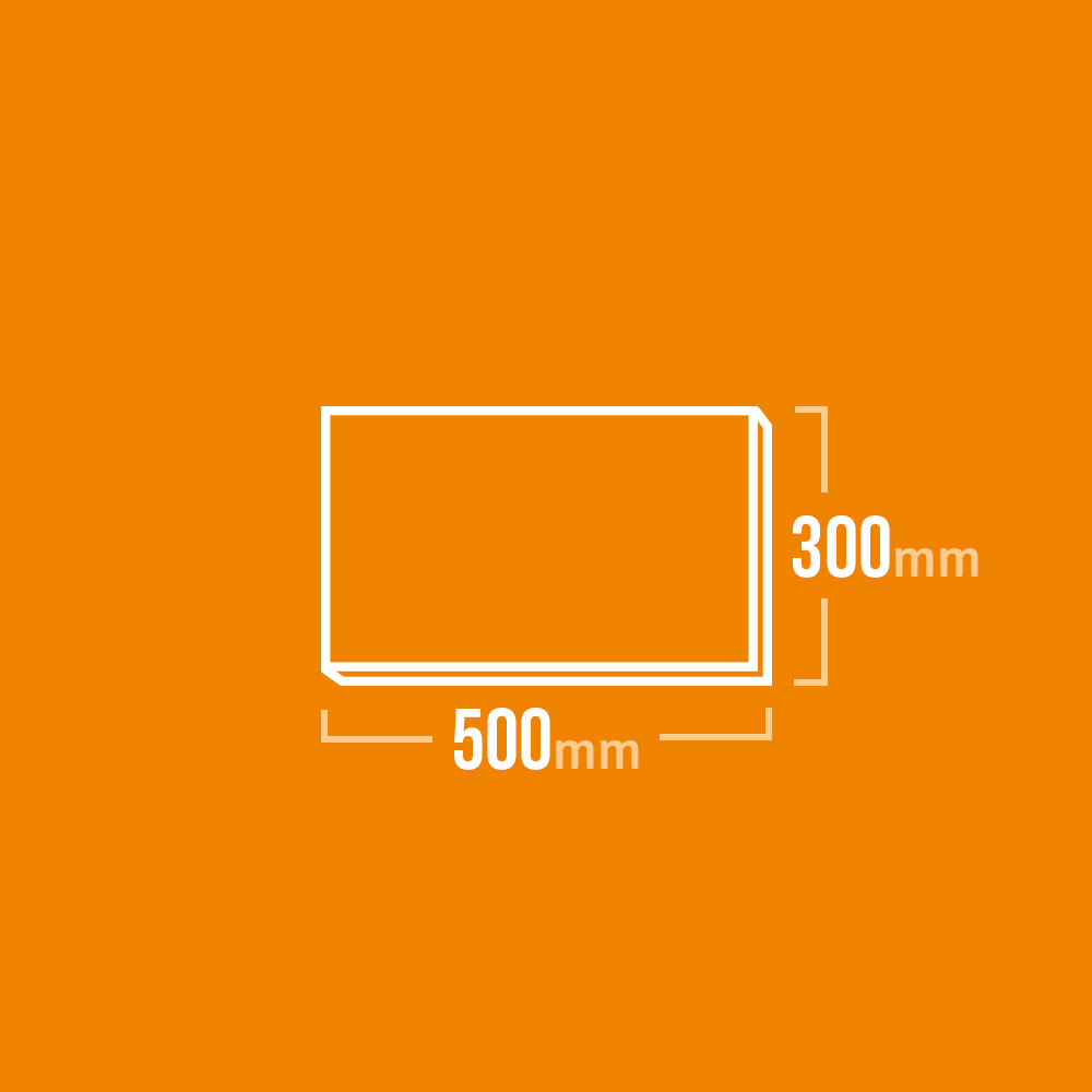 Vermiculite Platten 500x300mm