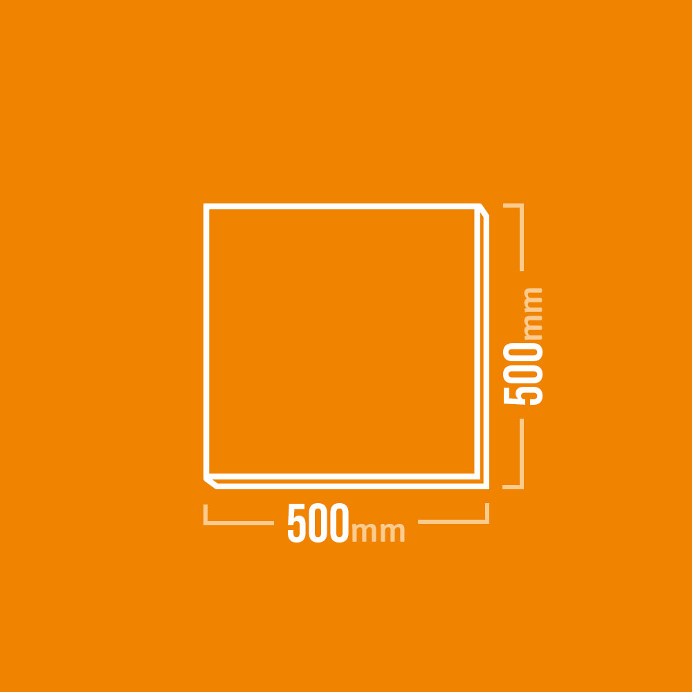 Vermiculite Platten 500x500mm