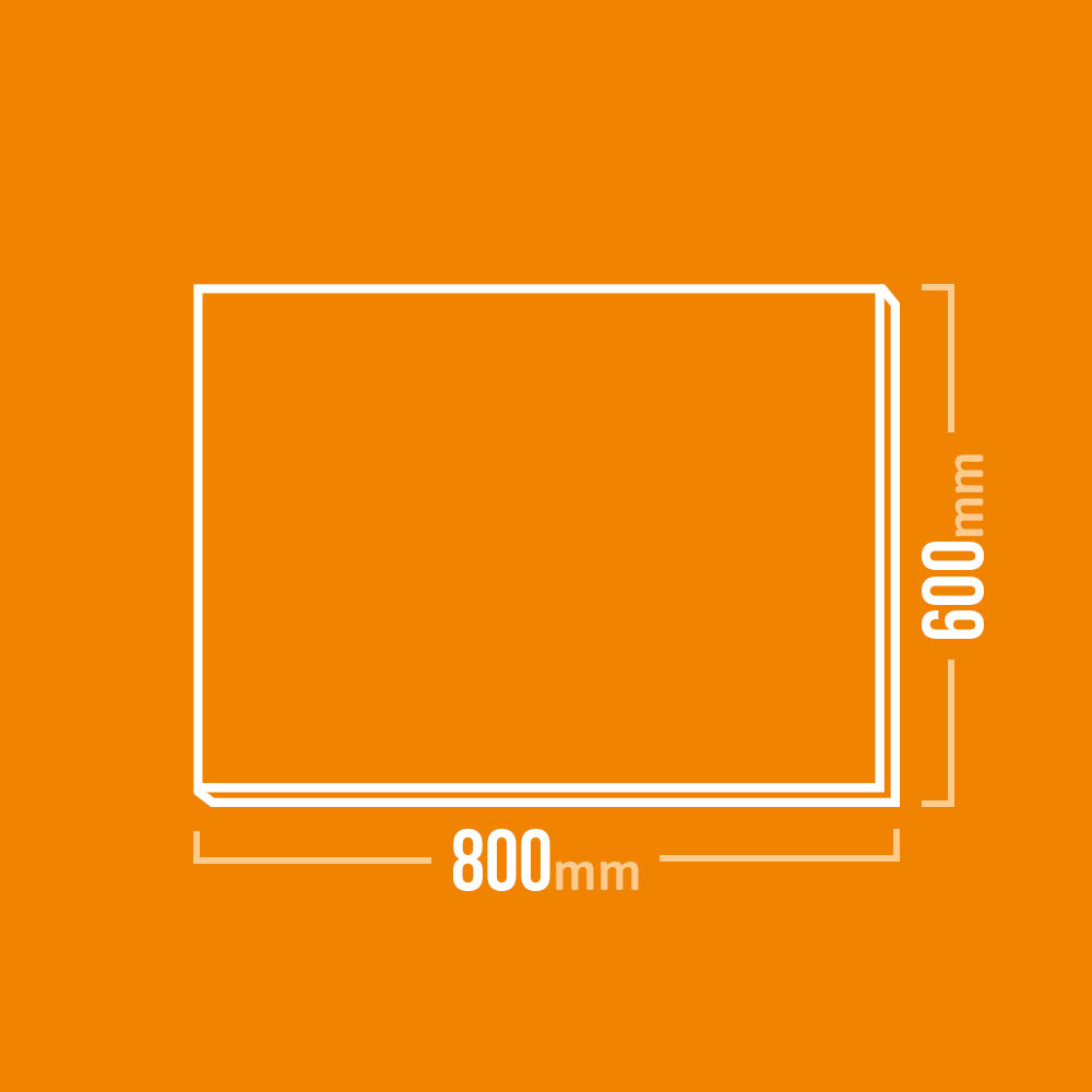 Vermiculite Platten 800x600mm