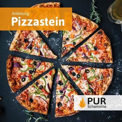 Anleitung Pizzastein 40x30cm
