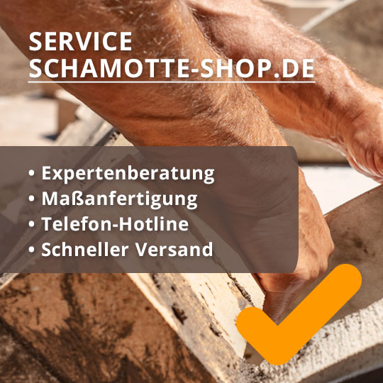 Service Schamotteplatten