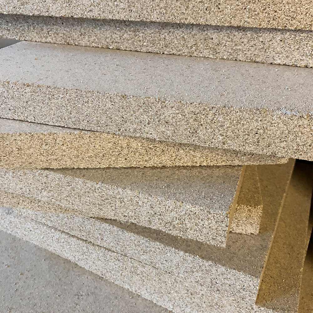 Vermiculite Platte Schamotte-Shop.de