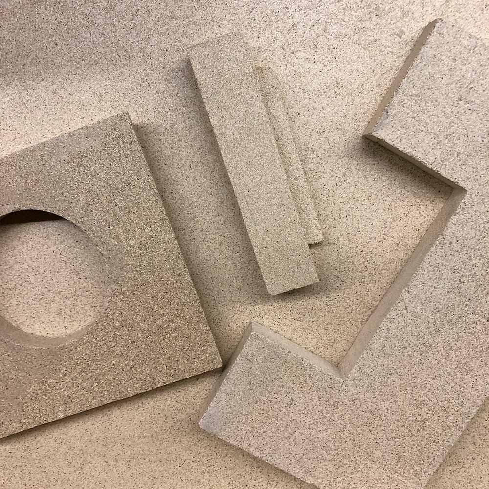Vermiculite Platten Zuschnitt Schamotte-Shop.de