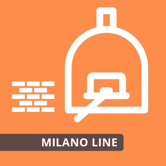 Pizzaofen Bausatz Milano Line