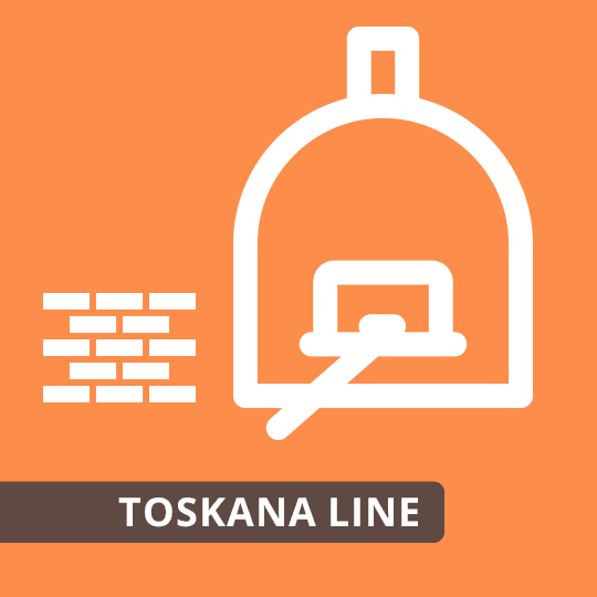 Pizzaofen Bausatz Toskana Line