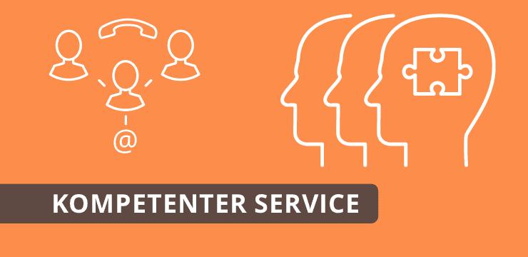 Kompetenter Service